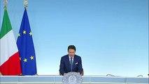 Giuseppe Conte - In diretta da Palazzo Chigi - Crisi di Governo 8 agosto 2019 - MoVimento 5 Stelle - M5S