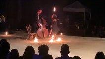 Le spectacle A fuego lento de la compagnie Bilbobasso