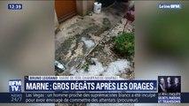 Orages dans la Marne: le maire de Frère-Champenoise a demandé au préfet le placement de sa commune en état de catastrophe naturelle