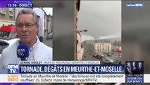 """Tornade en Meurthe-et-Moselle: """"Des toitures ont été complètement soufflées"""" (maire de Herserange)"""