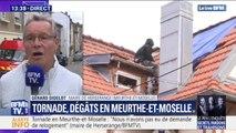 Tornade en Meurthe-et-Moselle: le maire de Herserange assure ne pas avoir eu de demande de relogement