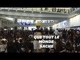 À Hong Kong, la protestation s'est déplacée à l'aéroport