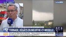 Tornade en Meurthe-et-Moselle: le maire de Herserange va demander au préfet le placement de sa commune en état de catastrophe naturelle