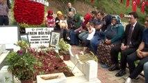 Eren Bülbül, ölümünün 2. yıl dönümünde mezarı başında dualarla anıldı