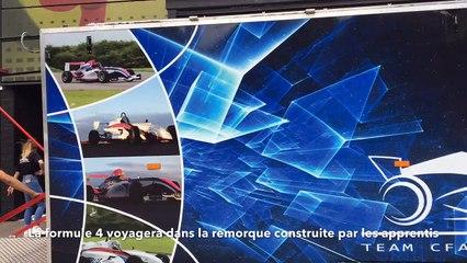 La Formule 4 des apprentis d'Epinal en route pour un circuit du Portugal