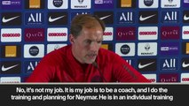 (Subtitled) 'Neymar can't play tomorrow' Tuchel