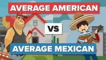 Average American vs Average Mexican - People Comparison