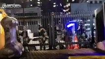 Cameraman takes direct hit from tear gas can at Hong Kong protest
