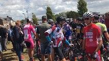 Les cyclistes Juniors ouvrent la Saint-Laurent à Montpinchon