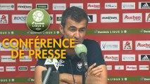Conférence de presse AC Ajaccio - SM Caen (1-2) : Olivier PANTALONI (ACA) - Rui ALMEIDA (SMC) - 2019/2020