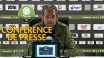 Conférence de presse EA Guingamp - US Orléans (1-0) : Patrice LAIR (EAG) - Didier OLLE-NICOLLE (USO) - 2019/2020