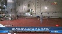 Persiapan Masjid Istiqlal Sambut Hari Raya Iduladha 1440 H Hampir Rampung