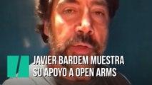 Javier Bardem pide a Pedro Sánchez un procedimiento de reparto de los rescatados por Open Arms