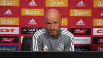 Ajax coach ten Hag and defender Blind talk ahead of UCL qualifier second leg against PAOK