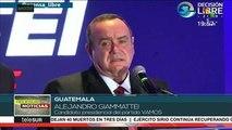 Alejandro Giammattei  gana 2da vuelta de presidenciales en Guatemala