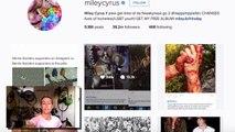 Miley Cyrus DESTROYS hunter Kendall Jones on instagram!