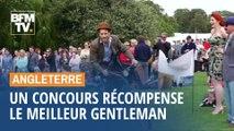 En Angleterre, un concours récompense le meilleur gentleman