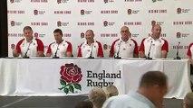 Eddie Jones discusses England World Cup squad at presser