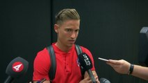 Mixed-zone reaction after Atletico Madrid beat Juventus 2-1 in ICC