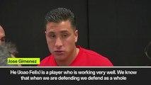 (Subtitled) Atletico team-mates heap praise on new signing Joao Felix