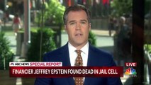 Special Report_ Jeffrey Epstein Found Dead In Jail Cell _ NBC News