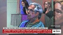 Financier Jeffrey Epstein dead of apparent suicide at 66