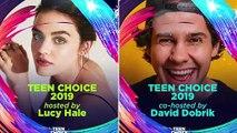 Teen Choice Awards 2019 - (Lucy Hale, Taylor Swift & the Jonas Brother)