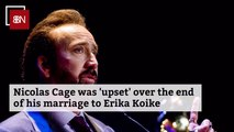 The Story Of Nicolas Cage And His Split With Erika Koike