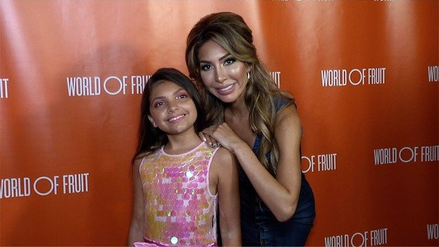 "Farrah Abraham and Sophia Abraham ""Taste of Beauty"" Party Red Carpet"