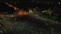 Los rumanos protestan contra la corrupción sistemática del Gobierno