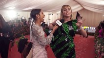 Miley Cyrus on Taking Liam Hemsworth to His First Met Gala _ Met Gala 2019 With Liza Koshy _ Vogue