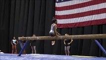 Simone Biles (USA) Beam Podium Training US Championships D-Score Potential (2017-20 Code)