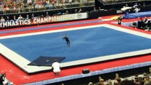 Simone biles floor bad view