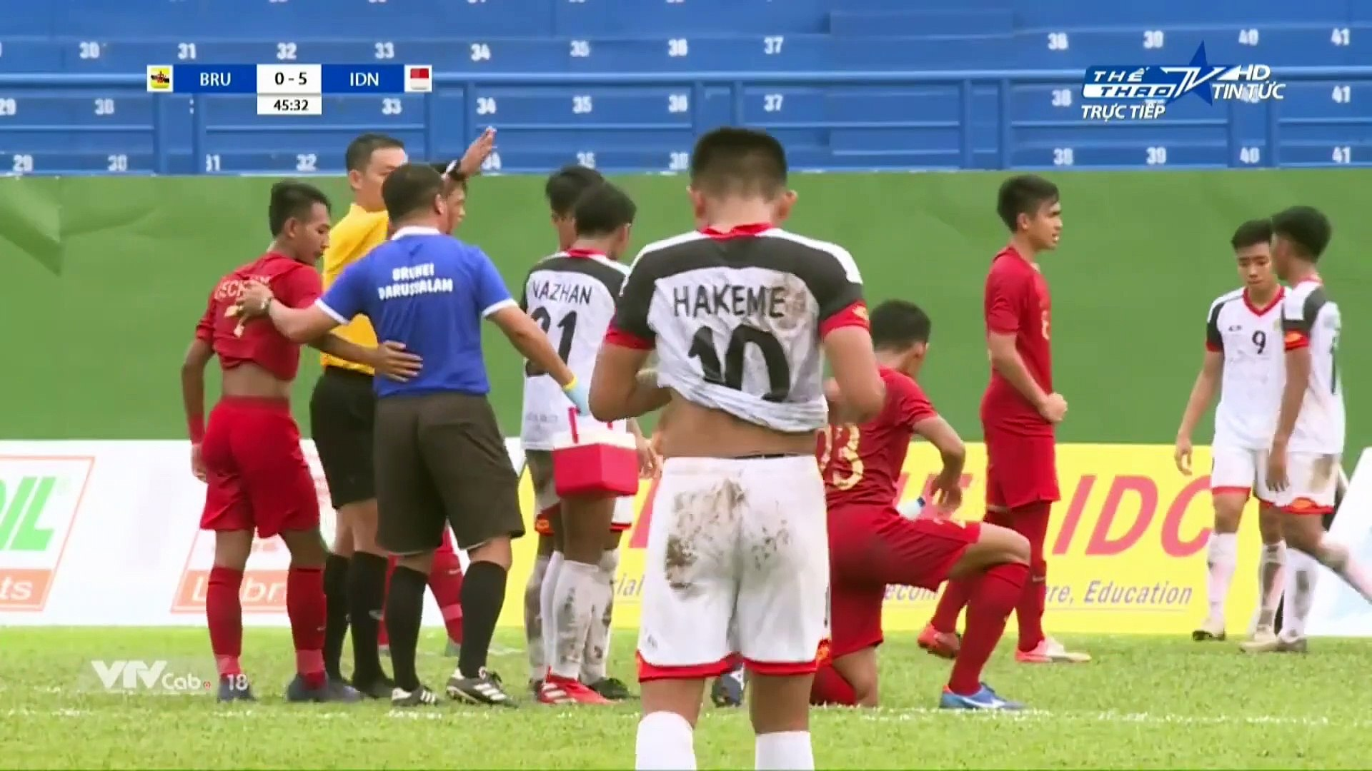Live | U18 Brunei - U18 Indonesia | AFF U18 Next Media Cup 2019 | VFF Channel