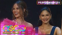 Pia Wurtzbach and Catriona Gray grace on stage | ASAP Natin 'To
