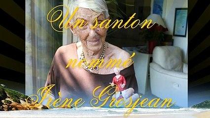 Un santon nommé Irène Grosjean signé Fabienne Pardi...