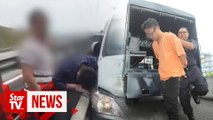 Suspect, wife remanded in fatal road rage incident on PLUS highway