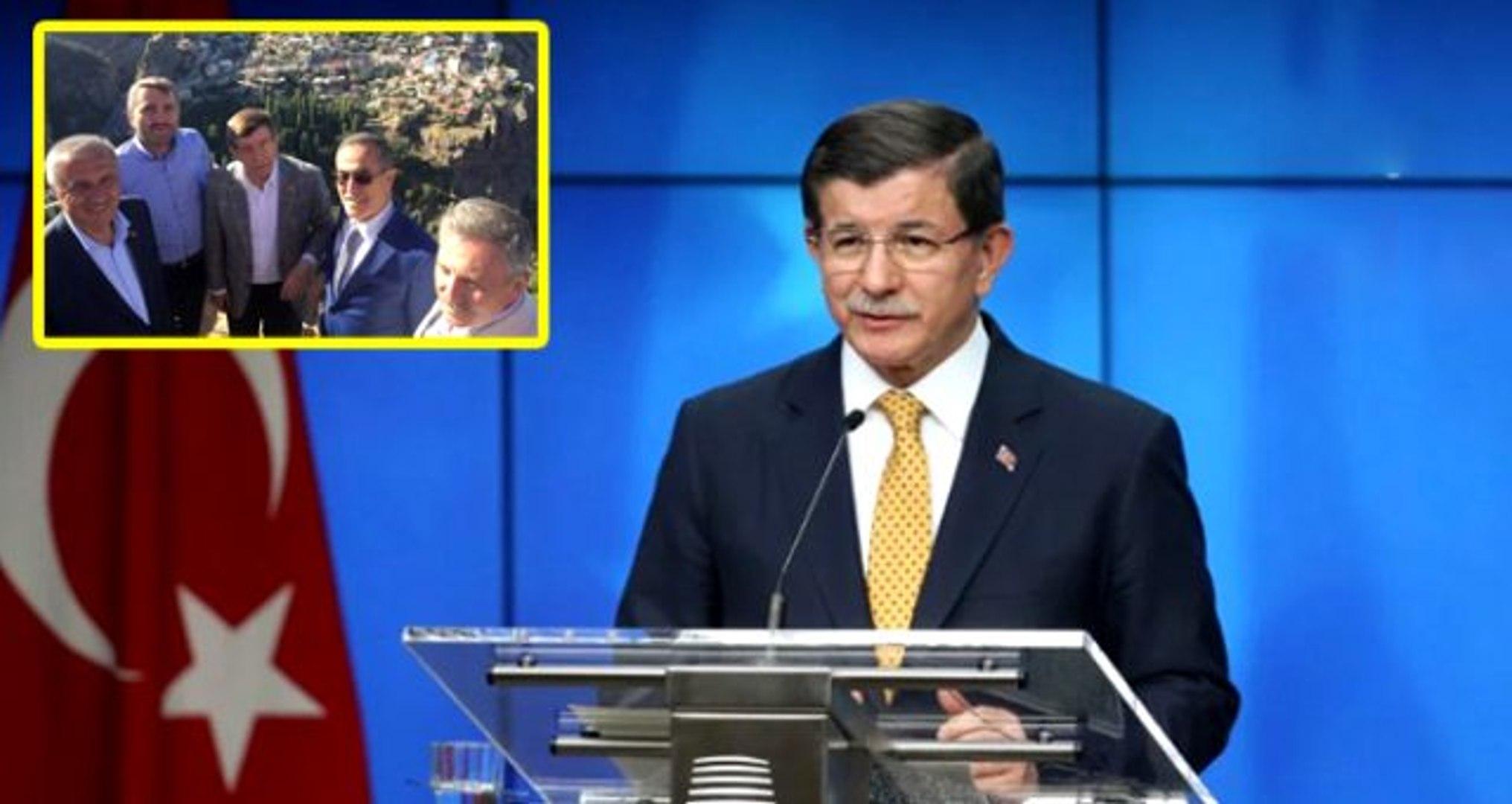 Parti kuracağı konuşulan Davutoğlu ile aynı karede görünen eski CHP'li vekil: İfşa oldum