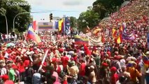 Maduro mobilise ses soutiens contre les sanctions américaines
