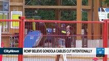 Un sabotage provoque la chute des cabines d'un téléphérique au Canada qui auraient pu contenir 240 personnes, mais heureusement vides