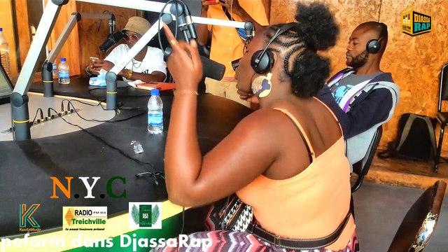 NYC perform  Ca Depend de toi dans DjassaRap du samedi 10-08-2019 sur Radio treichville 93.6