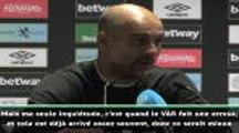 """1ère j. - Guardiola : """"Ma seule inquiétude ? Quand le VAR fait une erreur..."""""""