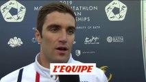 Prades «Je suis encore régulier» - Pentathlon moderne - Euro (H)