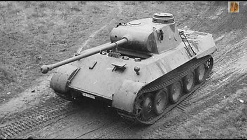 Blindés-61-Panzer V - Panther