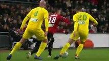 19/12/18 : SRFC-FCN : dribbles Hatem Ben Arfa
