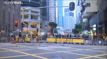 Hong Kong : des heurts entre manifestants et policiers