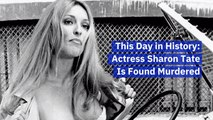 When Sharon Tate Was Killed