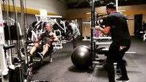 Dwayne The Rock Johnson Training