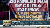 La incertidumbre marca el panorama político en Guatemala