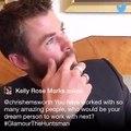 Emily Blunt and Chris Hemsworth Twitter Takeover #GlamourTheHuntsman